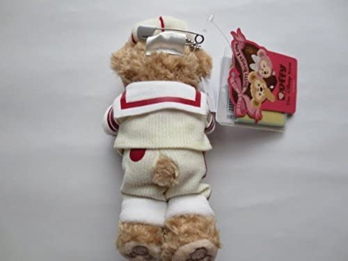 [Tokyo DisneySea 2010  Sweet Duffy  Duffy stuffed badge] TDS Duffy Plush Ball Chain batch (japan import)