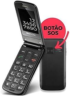 Oba Phone Flip Celular para Idosos Obabox