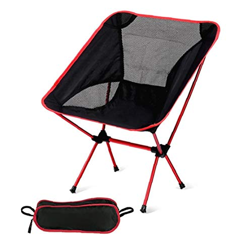 Sillas compacto y ligero que acampa plegable mochila, portátil, Breathablem cómodo, perfecto para el aire libre, camping, excursiones