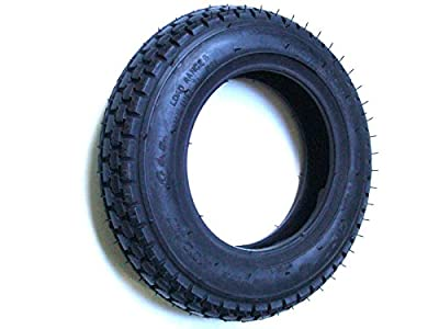 250x6 Black Mobility Scooter Tyre 2.50-6 for Emerald and Other Scooters