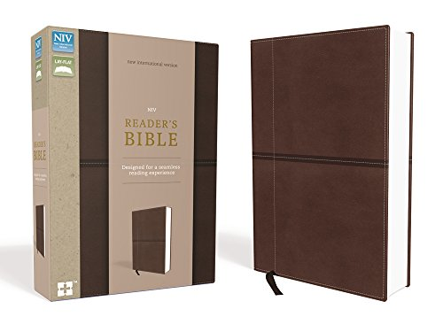 Compare Textbook Prices for NIV, Reader's Bible, Leathersoft, Brown: Designed for a Seamless Reading Experience Special ed. Edition ISBN 9780310446620 by Zondervan