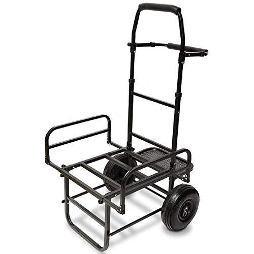 g8ds® Trolley dynamisch stabil faltbar Zwei Reifen Transport Tackle Karpfen Angeln