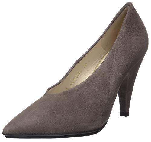 lodi Shana, Zapatos de tacón con Punta Cerrada para Mujer, Marrón (Ante Topo), 37 EU