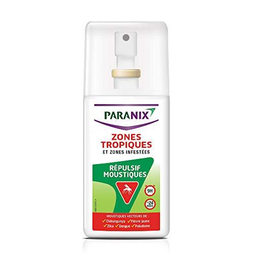 Paranix Répulsif Moustiques – Zones Tropiques et Zones Infes