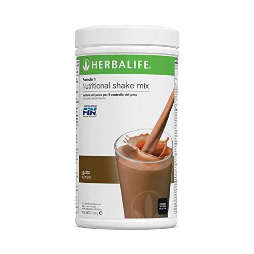 HERBALIFE Formula 1 shake 550 gr. (Scegliere sapore - Nuovo e fresco) (Cacao)