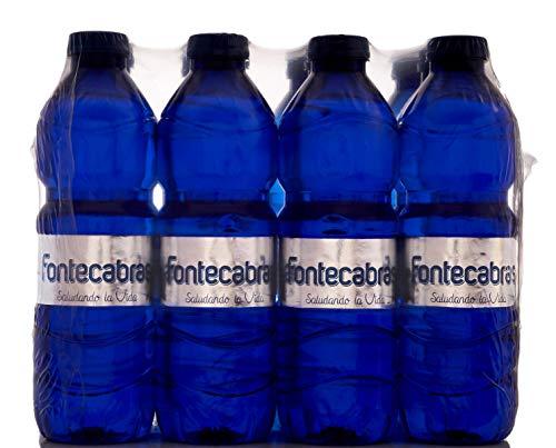 Fontecabras - Agua Mineral Natural Premium ECO Embotellada - Pack Botellines de 12 x 50CL