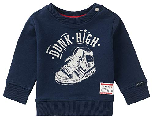 Noppies Baby-Jungen B Sweater LS Pretoria Sweatshirt, Peacoat-P590, 86
