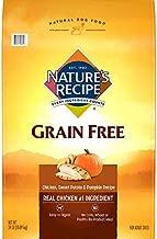 Nature's Recipe Grain Free Easy to Digest Dry Dog Food, Chicken, Sweet Potato & Pumpkin Recipe, 24-Pound