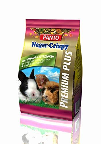 Panto Nagerfutter, Nager-Crispy Premium Plus 600 g, 5er Pack (5 x 600 g)
