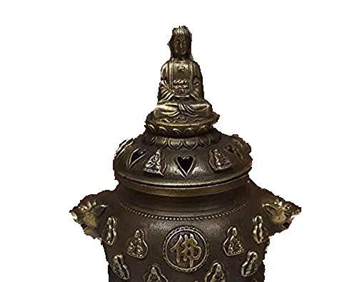 Fashio n158 Antiek puur koper zoals Boeddha wierook brander slinger schotel geurige wierook oven huisdecoratie ambachtelijke geschenk antieke verzamelen