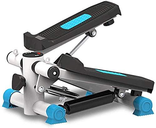 Máquina de ejercicio para pasos debajo del escritorio Entrenadores elípticos Ejercitador de pedales Máquina elíptica de pasos Bicicleta estática de ciclo silencioso con resistencia ajustable y mo