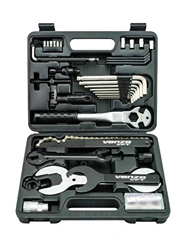 Venzo Premium Bike Repair Tools Tool Kit