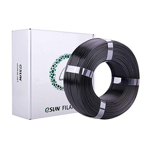 eSUN Filamento PLA Plus 1.75mm, Stampante 3D Filamento PLA+, Precisione Dimensionale +/- 0.03mm, Bobina da 1KG (2.2 LBS) Materiali di Stampa 3D per Stampante 3D, Nero