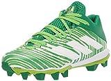 adidas Freak Mid 20 Football Shoe, Green/White/Green, 11 US Unisex Little Kid
