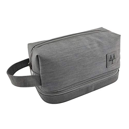 Charm4you Packing Cubes for Travel Suitcases Organiser Bags,Double-layer travel waterproof portable portable storage bag-gray,Organizer Bags for Travel Suitcase Organization