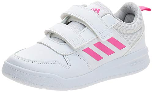 adidas Tensaur C, Zapatillas de Running Unisex niños, Blanco Ftwbla Rosrea Ftwbla 000, 34 EU