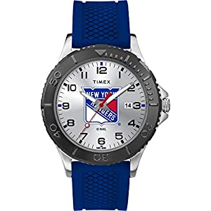 Timex Men's TWZHRANMN NHL Gamer New York Rangers Watch
