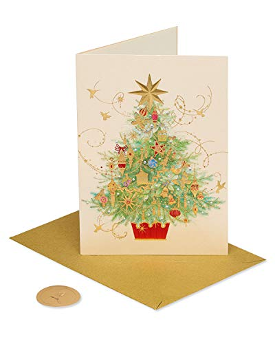 Papyrus Christmas Card (Christmas Tree)