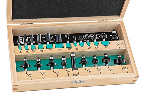 ENT 09022HKB 22-tlg. Fräser Set in...