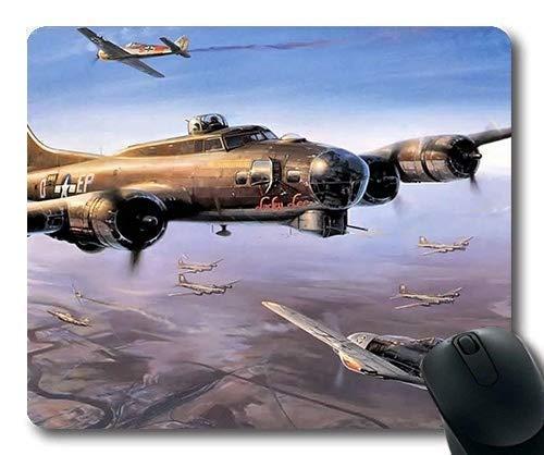 N\A Avion de la Guerre Mondiale, Tapis de Souris, Livre de Street Fighter, Tapis de Souris avec Bords Cousus
