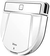 Dibea D850 robot vacuum cleaner thin type 【Automatic charging/water wiping/silent & strong suction/four cleaning modes/remote control and charger attachment】 (white)