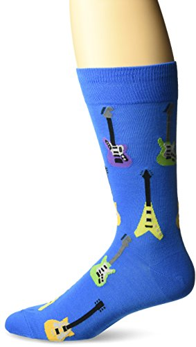 Hot Sox Electric Guitars Blue Socken Crew