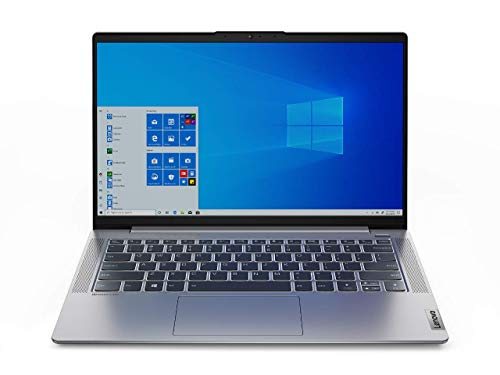 Lenovo IdeaPad 5 Notebook, Display 14' FullHD IPS, Processore AMD Ryzen 5 4500U, 256 GB SSD, RAM 8 GB, Fingerprint, Windows 10, Platinum Grey