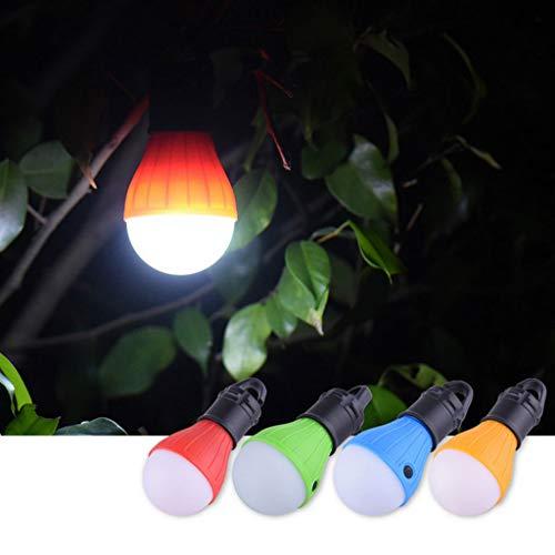 Luz Tienda de Campaña Luz Acampada Luces Portátil Lámpara de Tienda Lámpara Camping Tienda Impermeable Luz Tienda de Emergencia Alimentada para Senderismo,la Caza