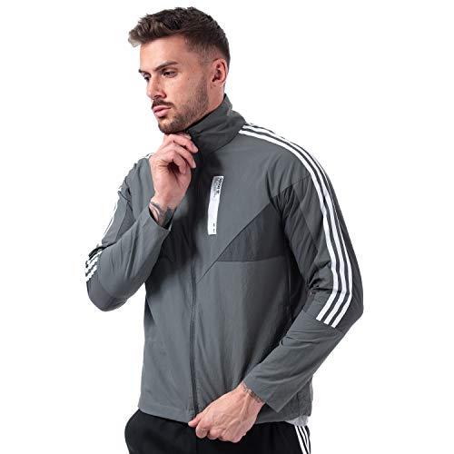 Adidas Originals NMD - Chaqueta deportiva para hombre, color gris