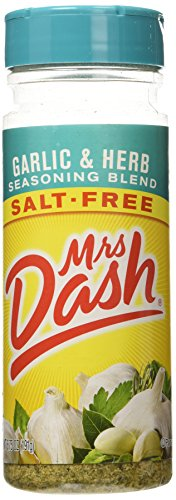 MRS DASH GARLIC AND HERB SEASONING BLEND SALT FREE 1 x 191g LARGER JAR AMERICAN IMPORT …