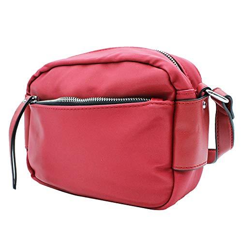 MISEMIYA - Borsa a Tracolla Borse Tracolla Donna borsa a Tracolla donna SR-J595(28 * 23 * 10CM) - Rosso