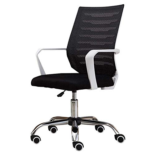N/Z Home Equipment Swivel Chair Computer Desk Chairs for Conference Room Home Office with Armrests Ergonomic Lumbar Support Comfortable Mesh Task Chair