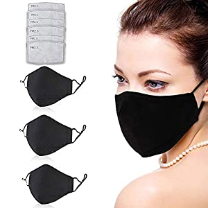 Corona Virus protection products Facial Protection Filtration 95%, Anti-Fog, Dust-Proof With activated carbon filter