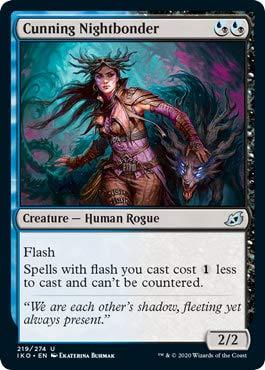 Magic: The Gathering - Cunning Nightbonder - Ikoria: Lair of Behemoths