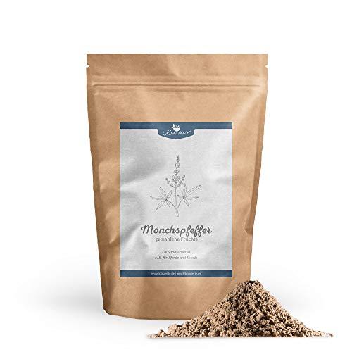 Krauterie Mönchspfeffer Keuschlamm gemahlen in hochwertiger Qualität, frei von jeglichen Zusätzen, für Pferde und Hunde (Vitex Agnus-castus) – 100 g