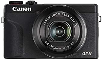 Canon PowerShot G7X Mark III Digital 4K Vlogging Camera, Vertical 4K Video Support with Wi-Fi, NFC and 3.0-inch Touch...