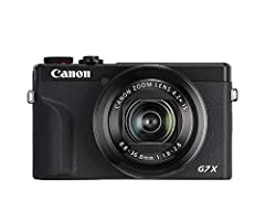 """20. 1 Megapixel 1. 0"""" stacked CMOS sensor and DIGIC 8 Image processor. 4. 2x optical zoom Lens (24-100mm f/1. 8-2. 8) with optical image Stabilizer. 4K 30P/ FHD 120P video. Turn your Canon camera into a high-quality webcam--Learn more: canon.us/lives..."""