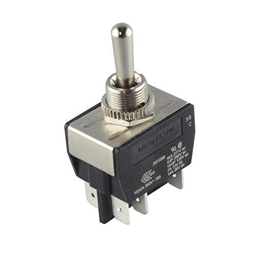 WITTKOWARE Kipptaster, IP67, 2-polig, (EIN)-AUS-(EIN), 16A, 250V
