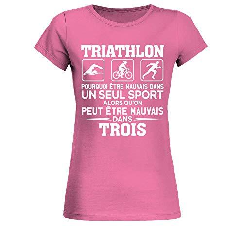 Triathlon Curly T-shirt Homme Cyclisme Course Natation Ironman Sport bike kit