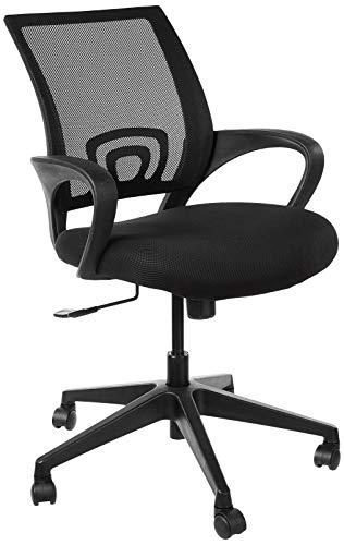 Amazon Brand - Solimo Loft Chair (Fabric ,Black,1 Piece)