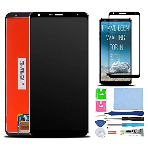 Price comparison product image XR MARKET Compatible LG Stylo 5 Screen Replacement,  LCD Display Touch Digitizer Assembly Part for LMQ720QM5 720PS 720MS 720VSP 6.2 Inch with Tools + Full Coverage Screen Protector Black