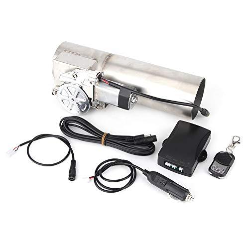 Válvula de escape de control eléctrico del coche, tubo de escape de...