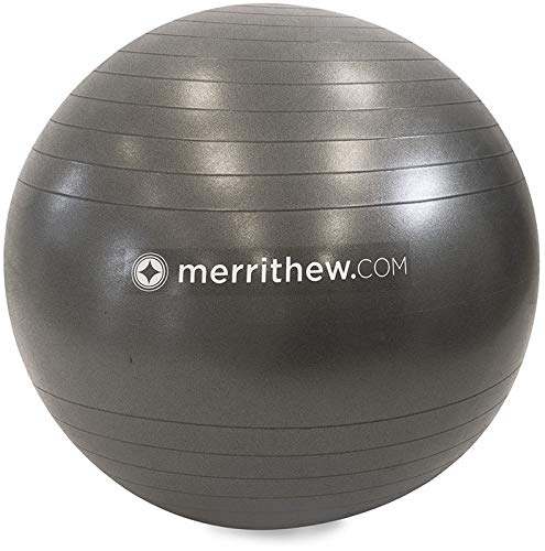 STOTT PILATES Stability Ball Plus 29 inch with Pump (Grey)