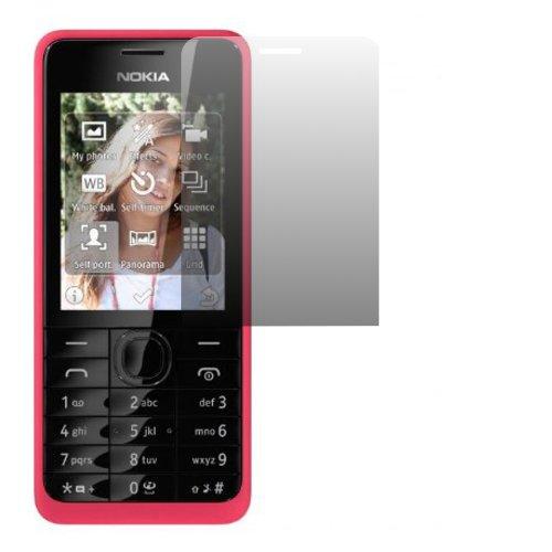 2 x Slabo Bildschirmschutzfolie Nokia 301   Nokia 301 Dual-SIM Bildschirmschutz Schutzfolie Folie