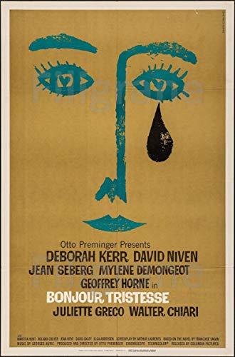 PostersAndCo TM Bonjour TRISTESSE Film Rrml-Poster/Kunstdruck 50 x 70 cm (auf Papier 60 x 80 cm) d1 Poster Vintage