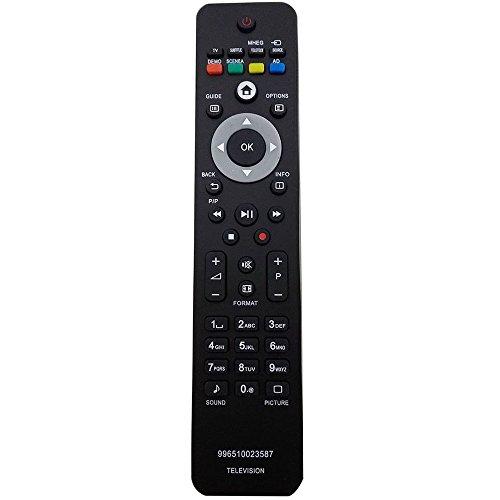 ALLIMITY 996510023587 Control Remoto Reemplazado para Philips 26PFL340512 996510023587 26PFL340560 26PFL3405H12 26PFL3405H05 26PFL3405H60 32PFL5624H12 32PFL540460 37PFL5604H60 42PFL5624H12 TV