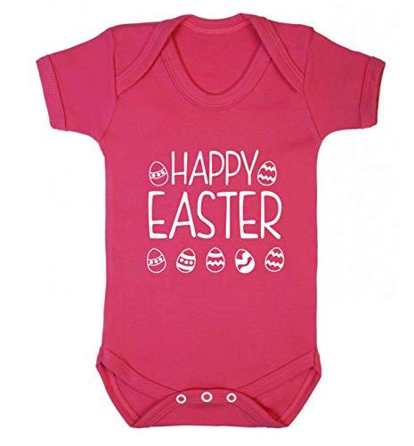 Flox Creative Gilet pour bébé Happy Easter - Rose - XXL
