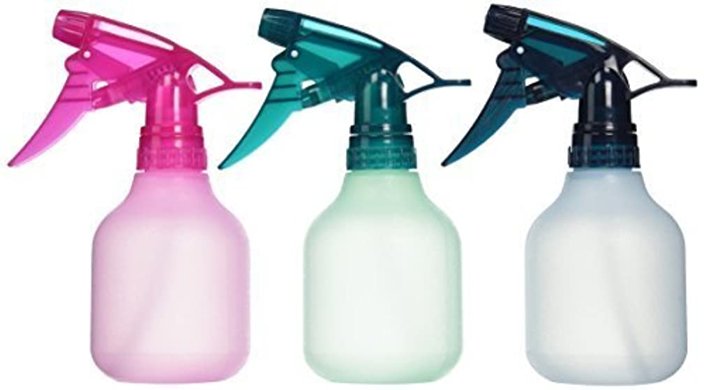 Empty Spray Bottle 8 oz. (3 Pack) Colors May Vary