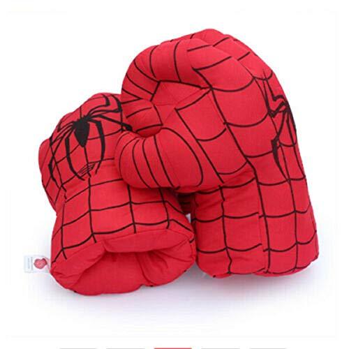 Los Vengadores, guantes creativos, juguetes de peluche, guantes de boxeo para nios, superhroe, disfraz de cosplay, puos de juguete para cumpleaos, Navidad, Halloween, regalo (Spider-Man1)
