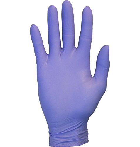 The Safety Zone Powder Free Indigo Nitrile Gloves, Case of 1,000 Gloves (Medium)